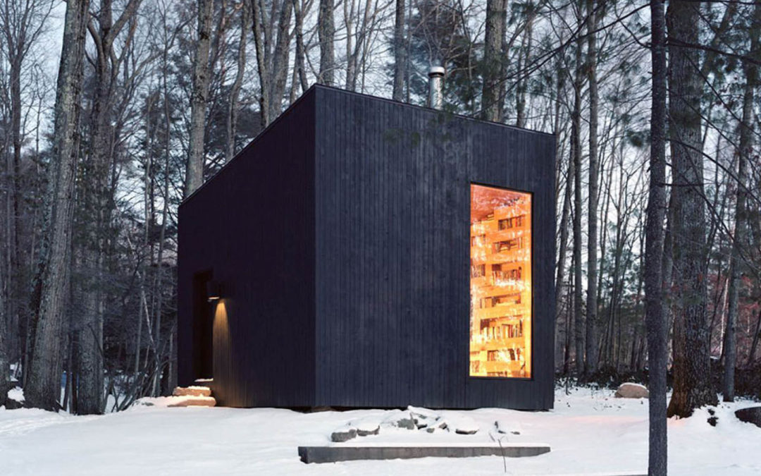 A Guest House In The Woods For Book Lovers